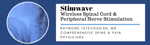 Raymond Tatevossian, MD, implants Stimwave for Buttock Pain